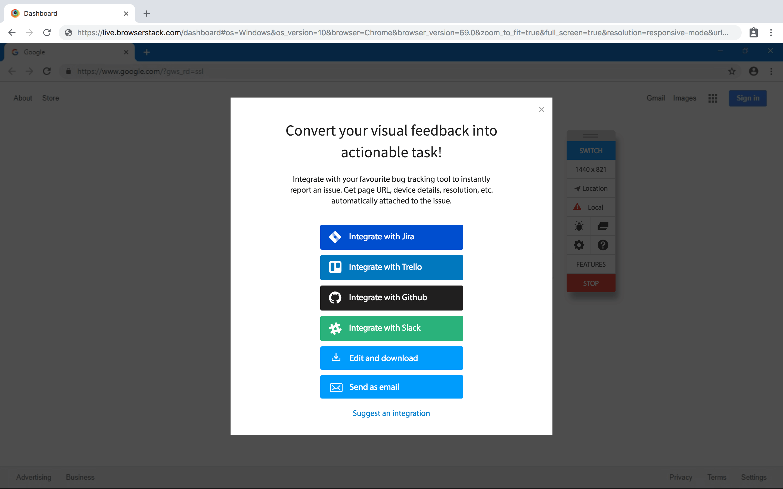 GitHub Integration Step 2
